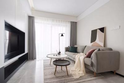 90㎡舒适北欧3室2厅,小吧台颜值与实力并存!