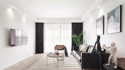 105㎡北欧宜家风3室2厅,细节与质感的完美演绎