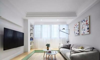 90㎡舒适北欧3室2厅,回归简单纯粹的生活