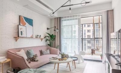94㎡舒适北欧3室2厅,享受细节里的清新与浪漫