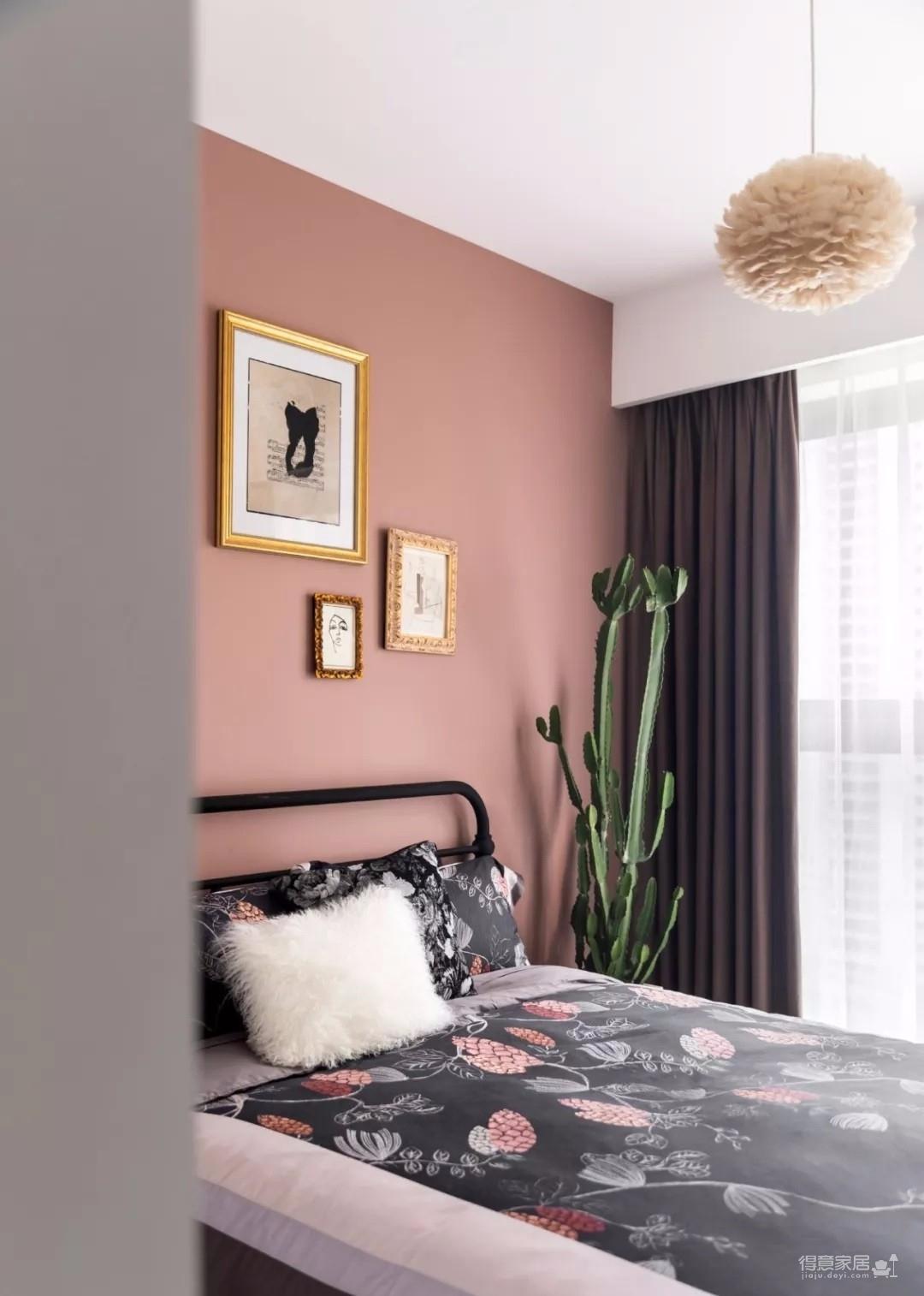 89㎡北欧混搭风三居室,色彩丰富收纳好,很有艺术感!
