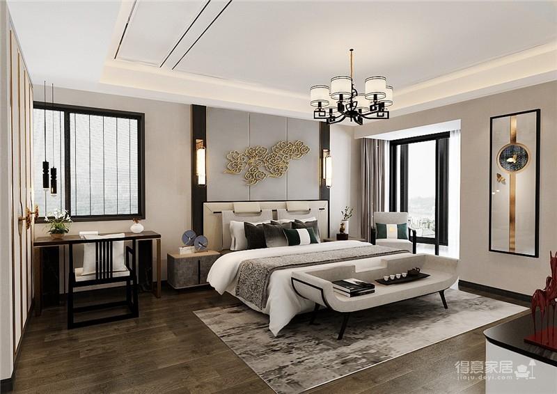 金沙泊岸130平-新中式风格