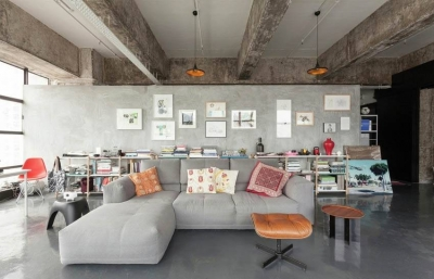 收藏家的loft公寓