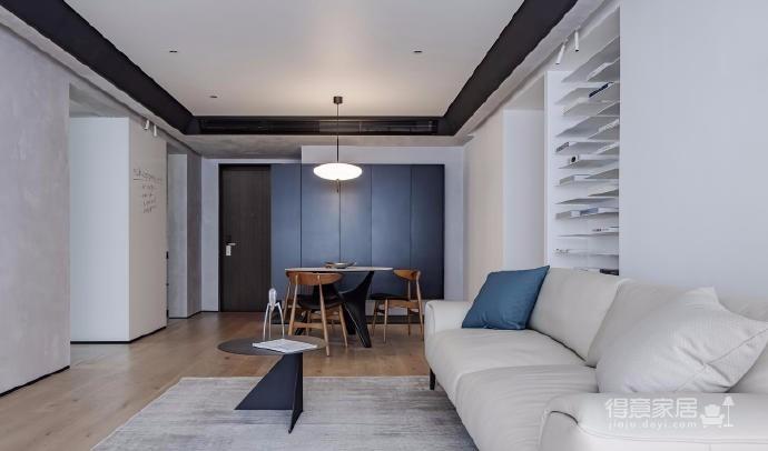 125㎡现代风格装修,这个设计空间的光影层次更丰富,白色能呈现出最自然纯粹的本质还不错图_7