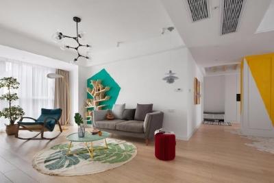 140平米的北欧风格三居室