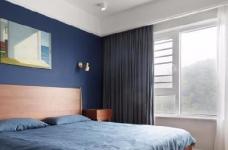 128平米四室两厅北欧风,原木色为底,辅以灰色与白色,空间通透自然图_3