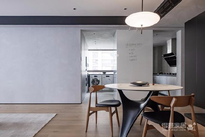 125㎡现代风格装修,这个设计空间的光影层次更丰富,白色能呈现出最自然纯粹的本质还不错图_8
