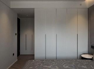 现代风格进口克诺斯邦进口板平开门衣柜