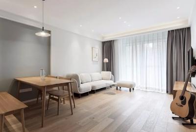 78㎡舒适北欧2室2厅,回归简单纯粹的生活