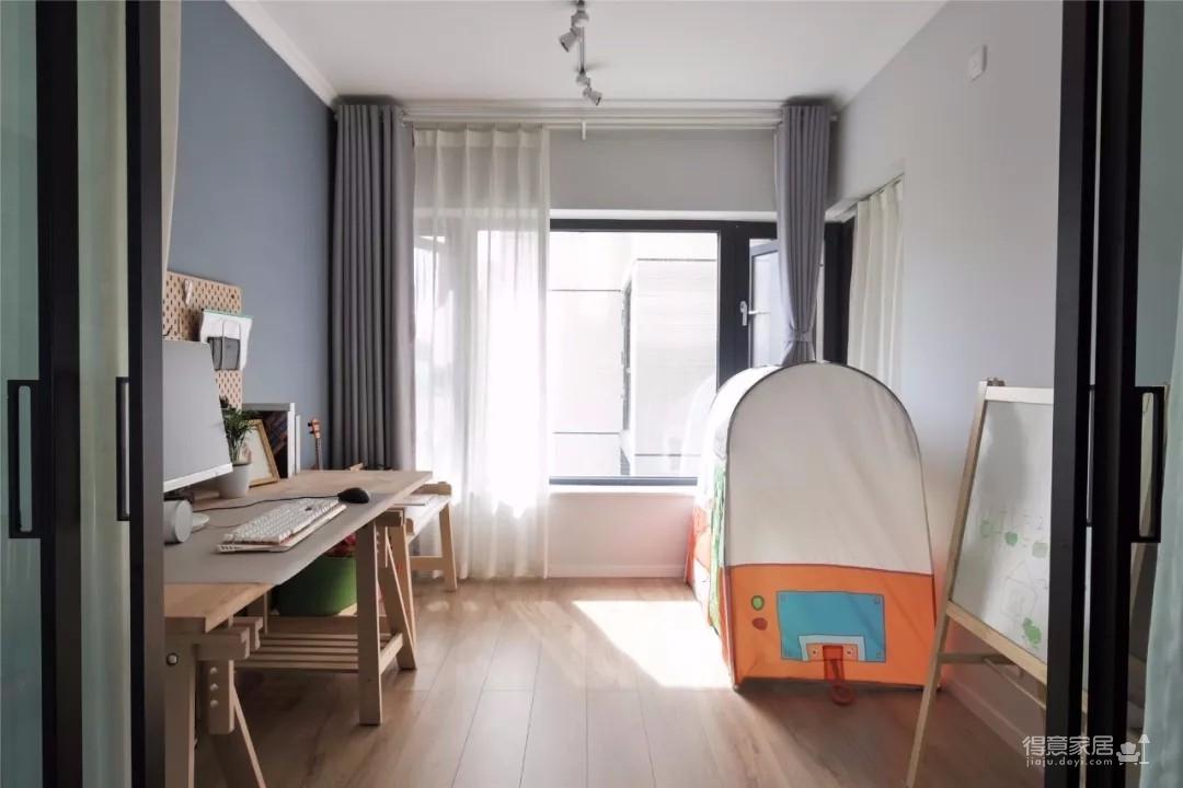 96㎡溫馨北歐3室2廳,舒適居家的小資生活