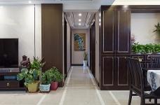 140平三室两厅广电兰亭时代中式图_5