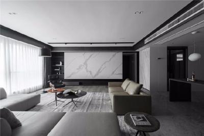 筆直干練的線條,黑白簡潔的配色,高質感的選材,無不透露著低調的奢華