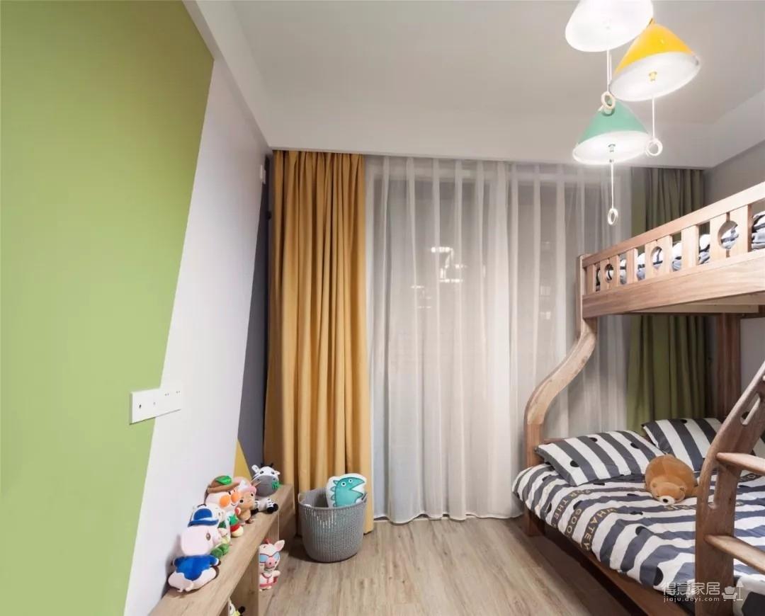 115㎡溫馨北歐3室2廳,清新愜意的暖心之家