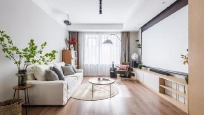 家具色彩越是柔和视觉攻击力就越低,越能给人一种放松下来的居家氛围