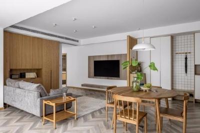 118㎡日式四居室设计