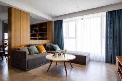 102㎡北欧风格三居室设计