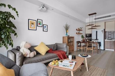 125平北欧,全屋原木风,简洁有气质,卧室定制收纳柜,太实用了!