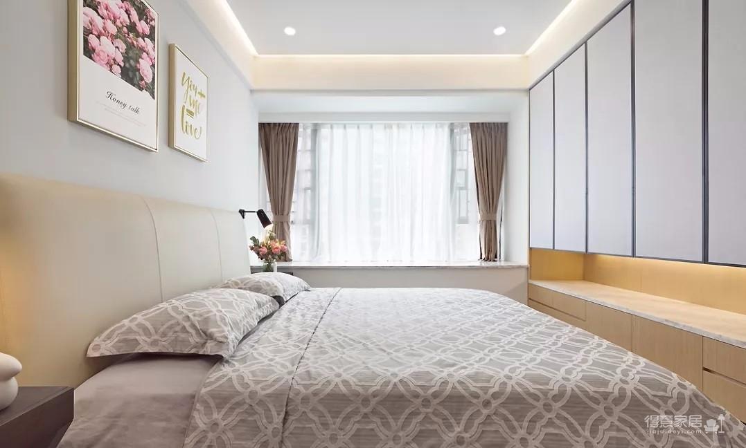 130㎡現代簡約3室2廳,榻榻米書房顏值與實力并存!