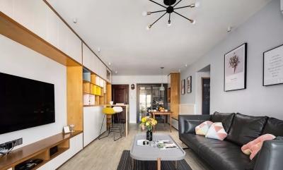 115㎡舒适北欧3室2厅,儿童房还可以这样设计!