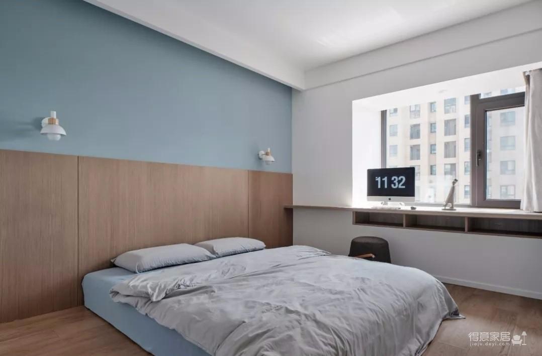 93㎡简约北欧3室2厅,清新舒适的小资格调