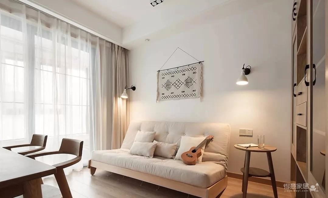 137㎡日式MUJI风3室2厅,营造温馨舒适的生活格调