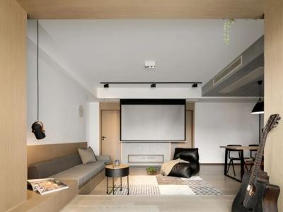 96㎡小三居,双动线、沙发变坐榻、充足收纳...打造「化繁为简」的家!