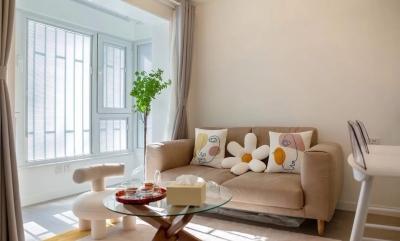 75㎡两室一厅,开放式格局显大实用,温馨浪漫的格调,惹人羡慕