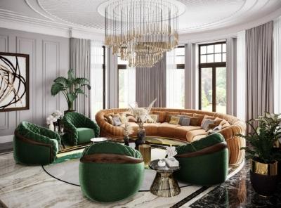 1100㎡别墅,当现代设计融合古典元素