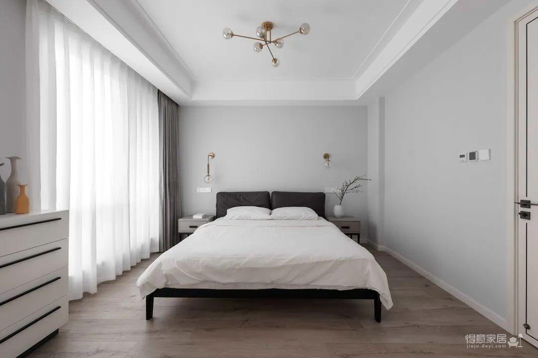 抛弃常规空间横向打开,满足幸福三口的现代别致家