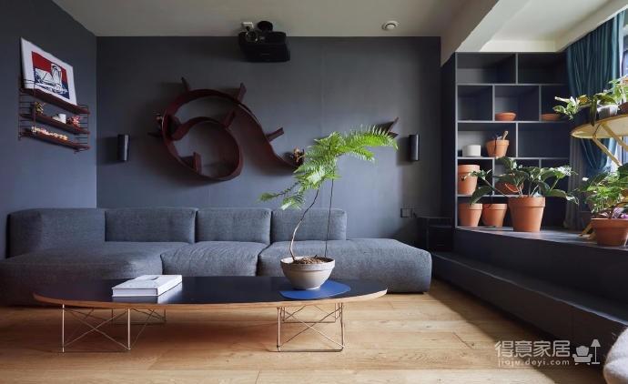 空间有了植物就有了灵气。结合家中的简约和宁静,处处充满生机