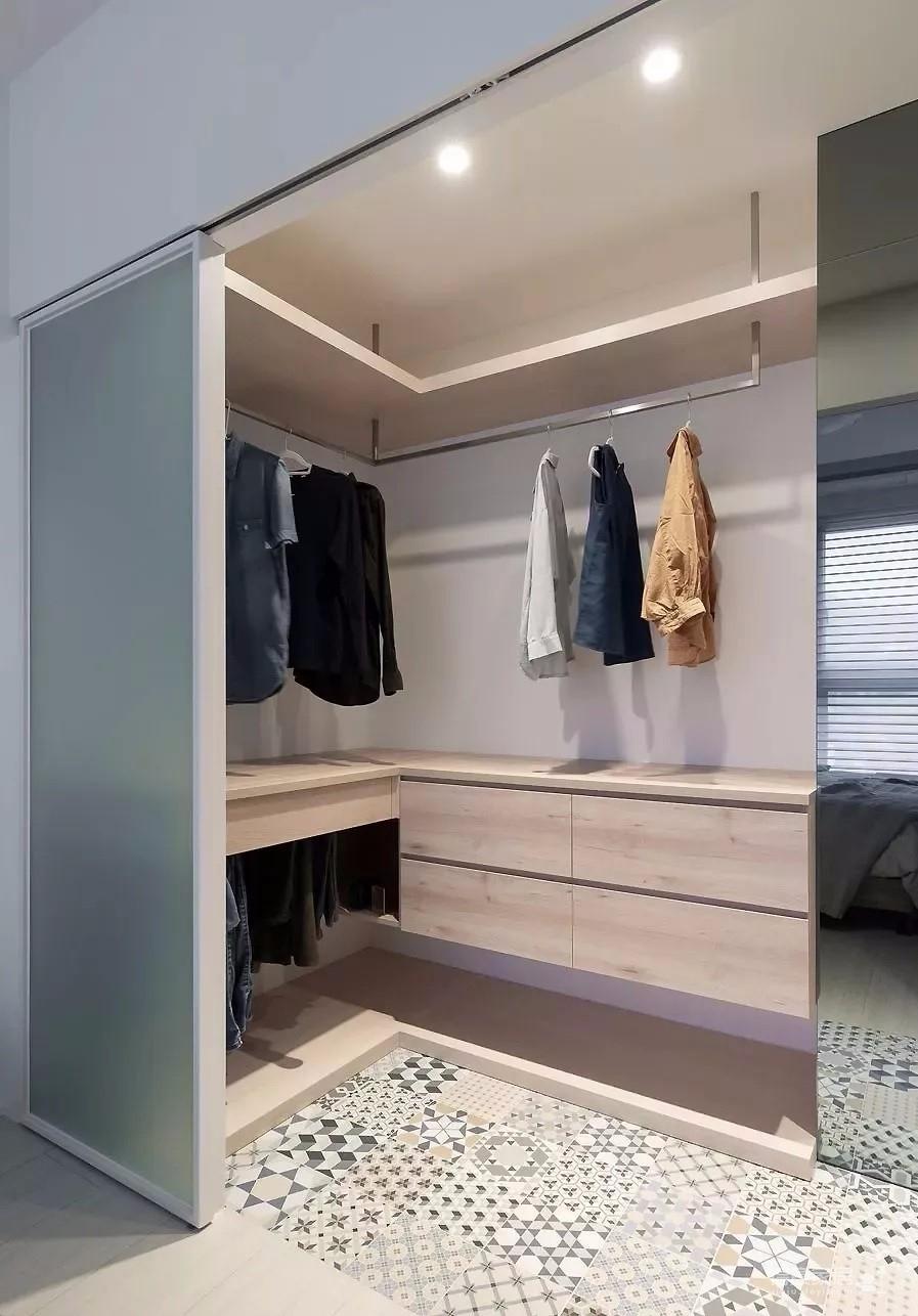 100㎡舒适北欧3室2厅,玻璃隔断让时尚感up!