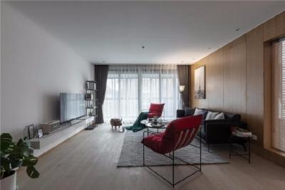 140㎡现代风格三居室设计