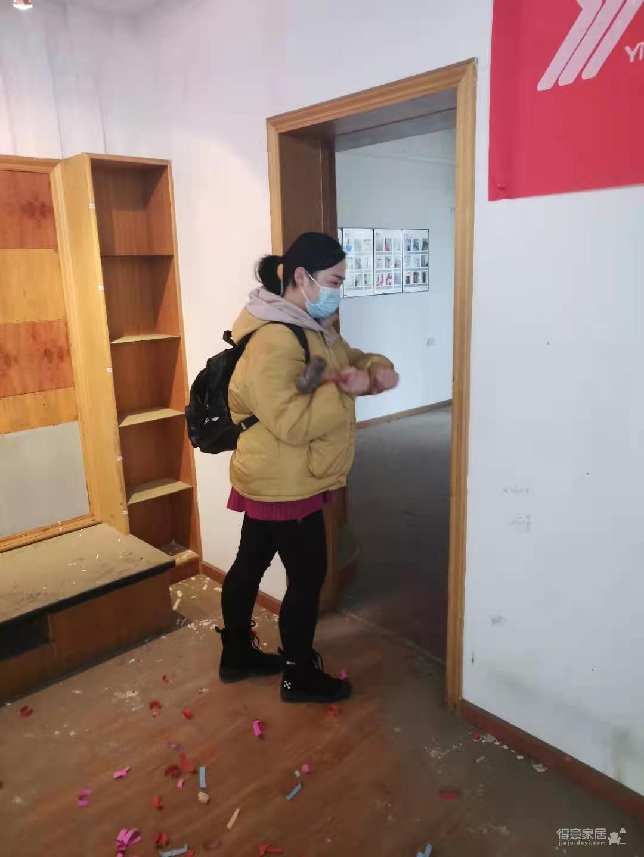 安顺佳园谢小姐家旧房重装开工大吉图_3