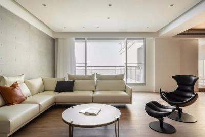 188平日式装修,全屋素雅原木+混凝灰设计,清简优雅,气质与众不同!