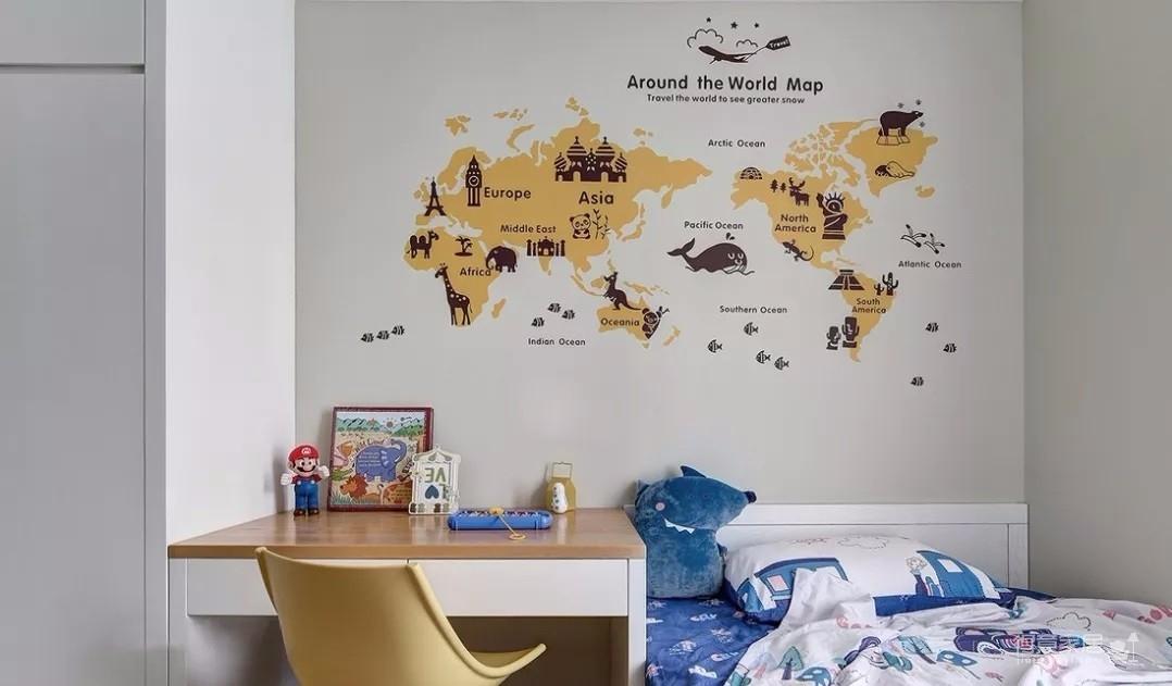 116㎡舒适北欧3室2厅,榻榻米书房颜值与实力并存!