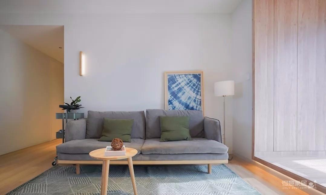 107㎡日式MUJI风3室2厅,诠释恰到好处的生活美学
