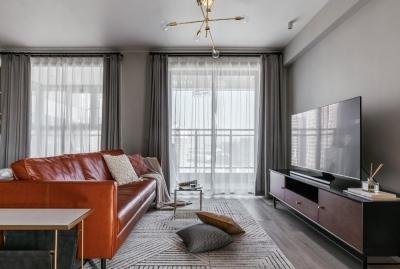 90平三室两厅现代简美风