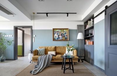 125平三室两厅复古风