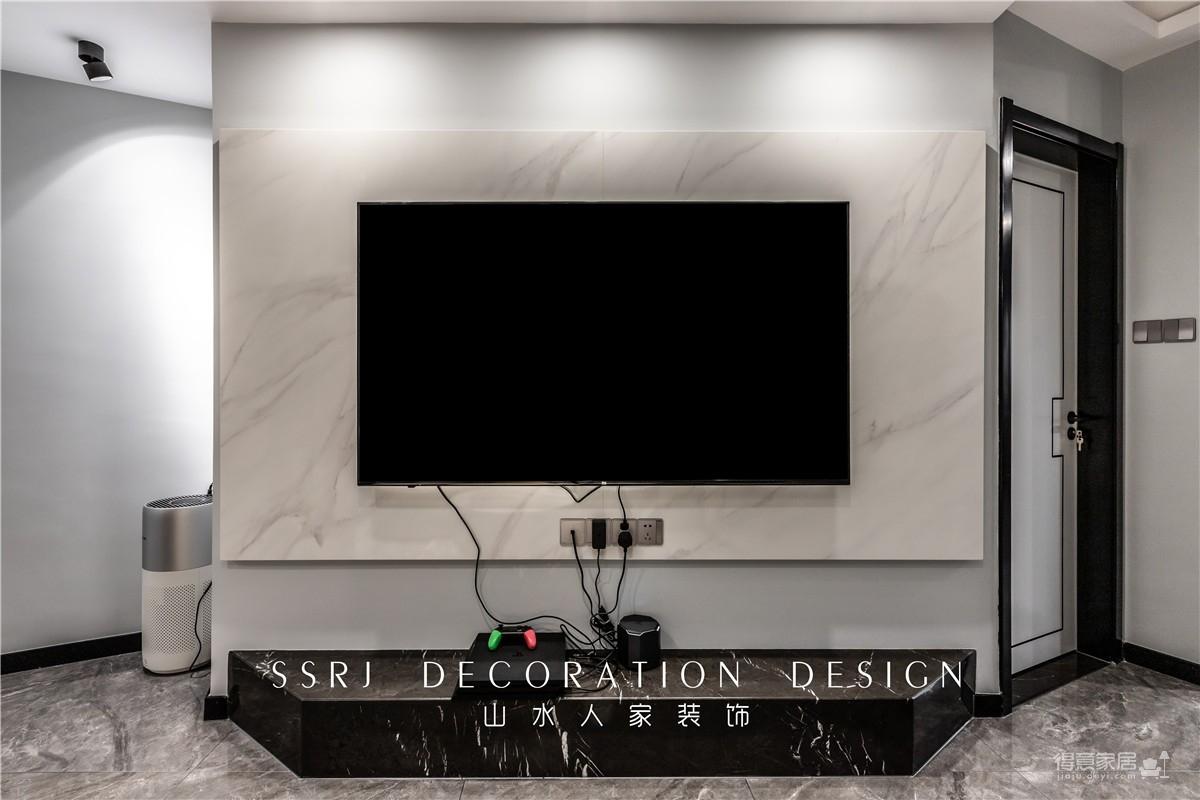 【滨江苑】98平三室现代风