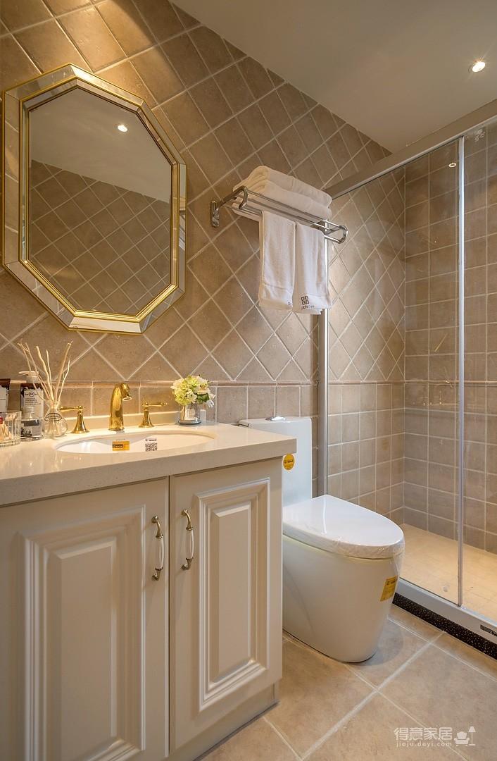 120平简单舒适的美式暖宅