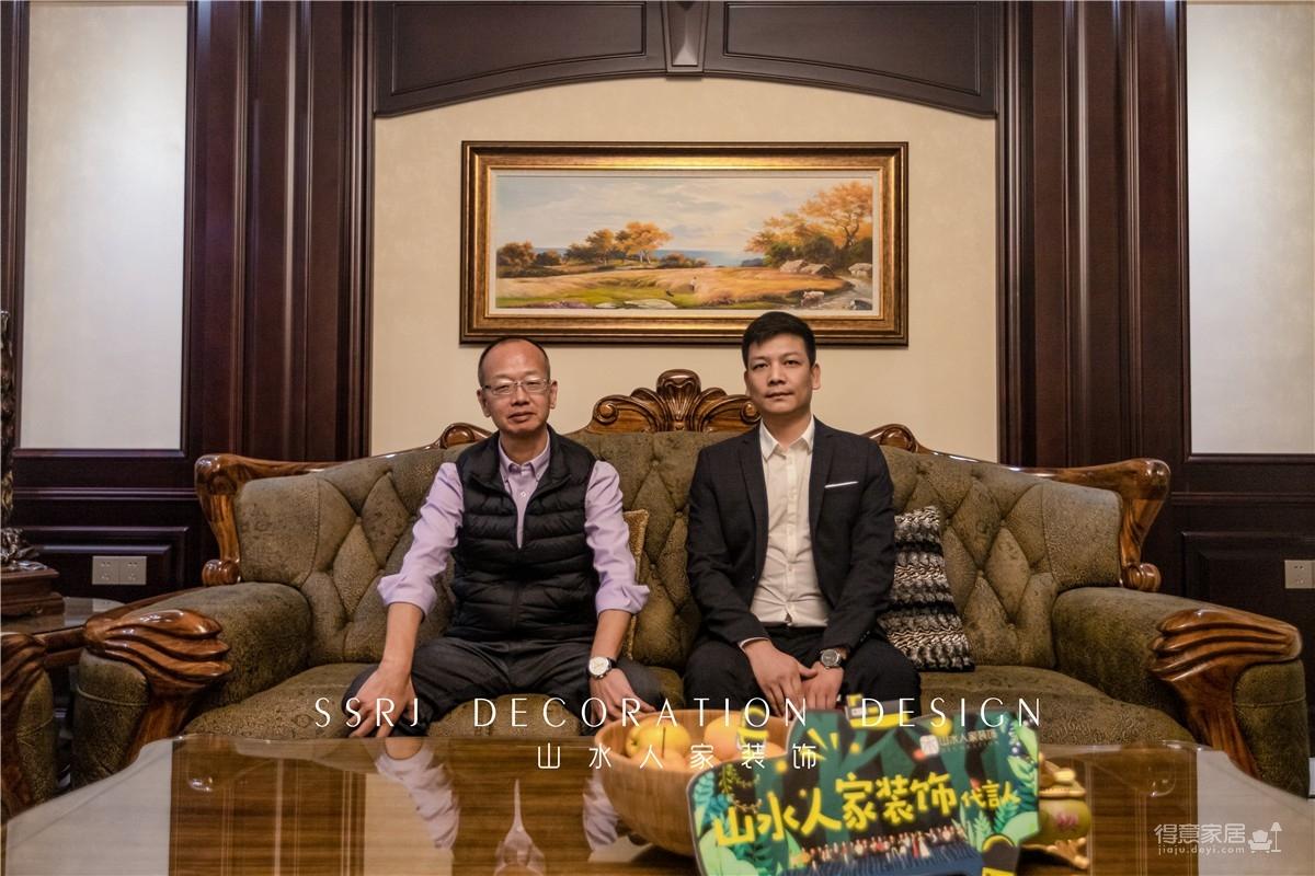 莲湖锦城300平别墅古典美式