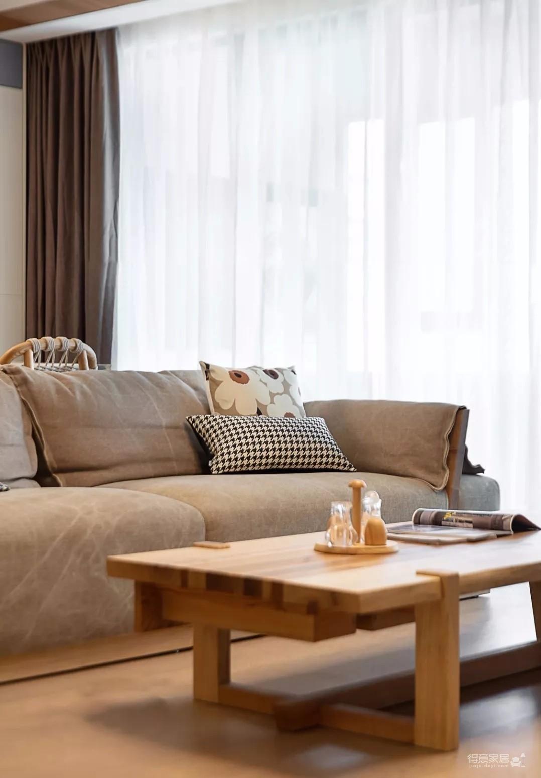 140㎡现代北欧3室2厅,温馨又迷人的生活格调