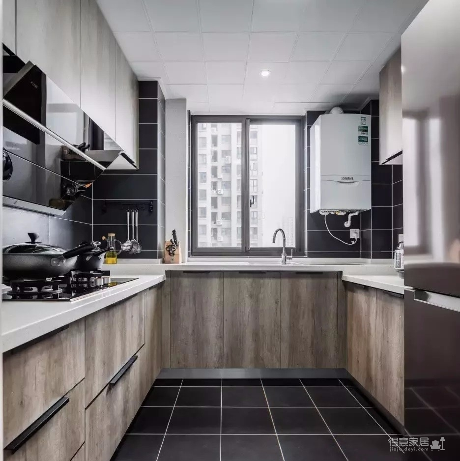 122㎡现代主义3室2厅,简约格调演绎都市美学图_12