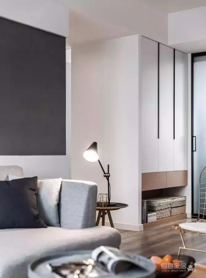 122㎡现代主义3室2厅,简约格调演绎都市美学图_4