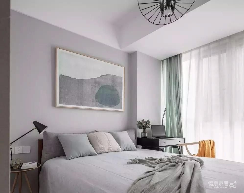 122㎡现代主义3室2厅,简约格调演绎都市美学图_7