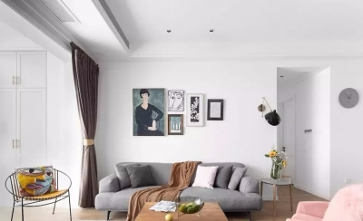130㎡舒适北欧3室2厅,轻松而美好的惬意生活
