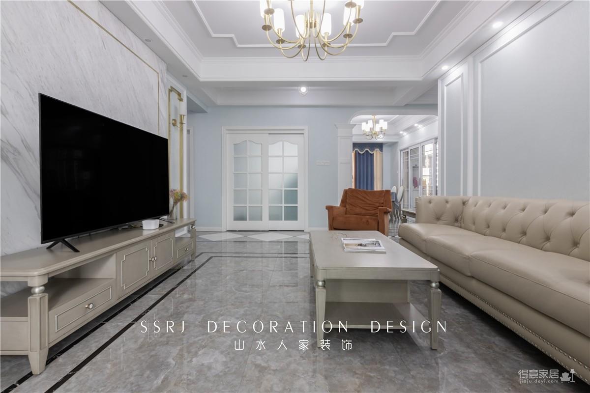 【中国核建锦城】130平三室两厅简美风图_4