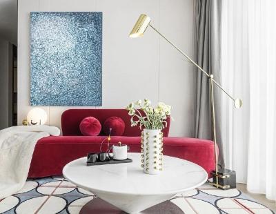 92㎡现代三居   舒适度与设计美感并存