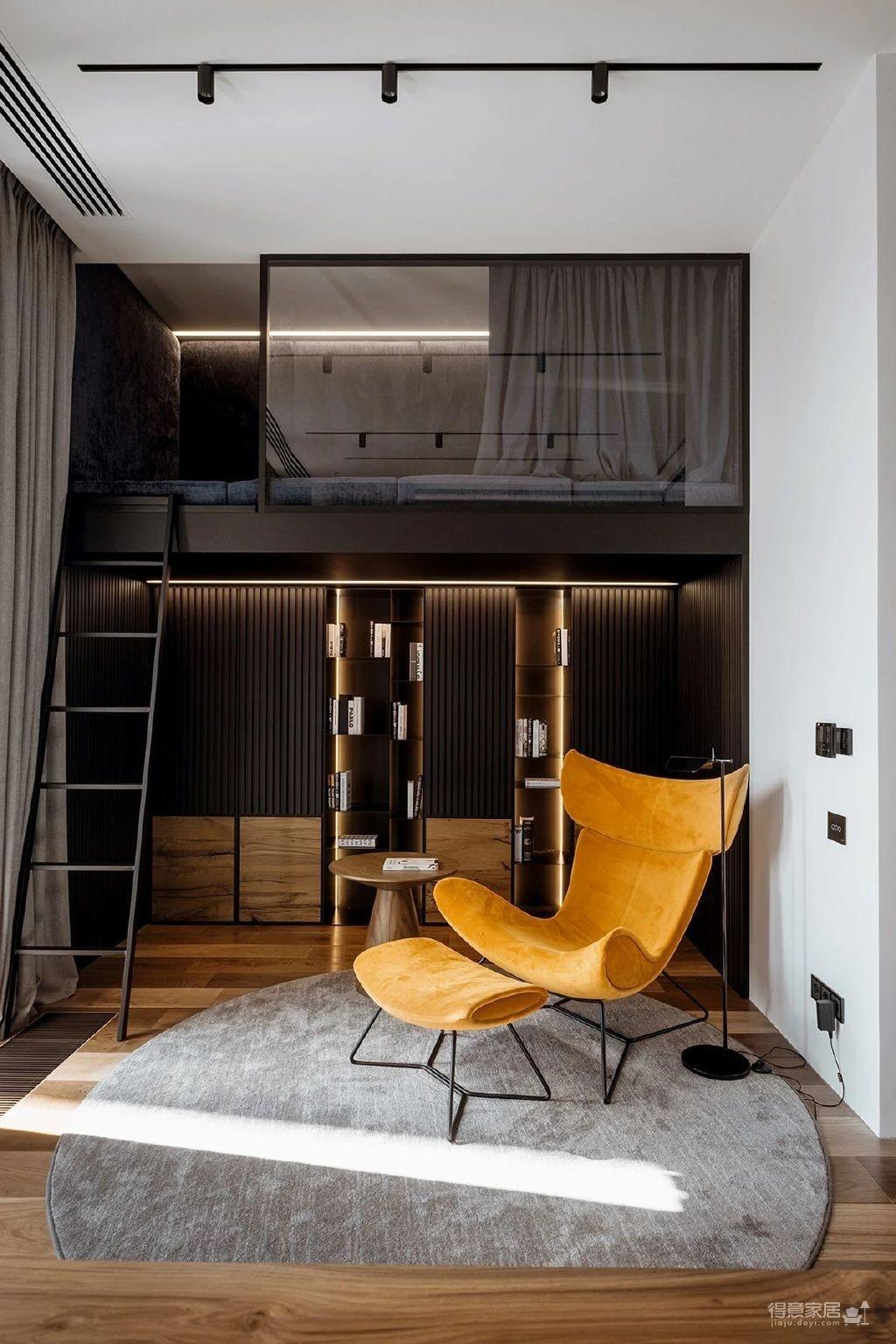 三间小公寓拼凑而成的136平大宅,时髦得不像话图_9