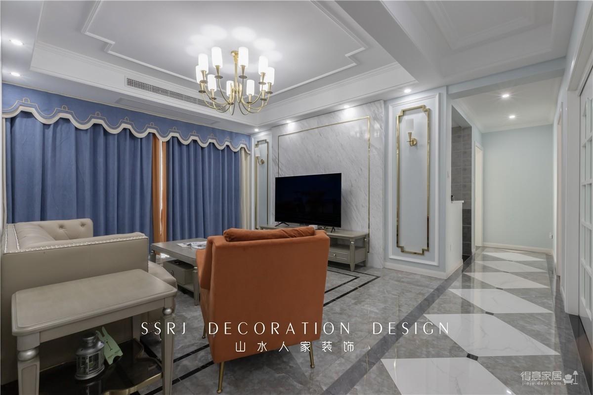 【中国核建锦城】130平三室两厅简美风
